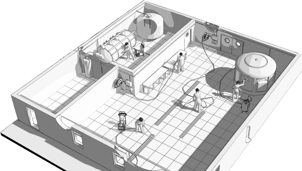serwiscsm zintegrowany system mycia pianowego obiektu