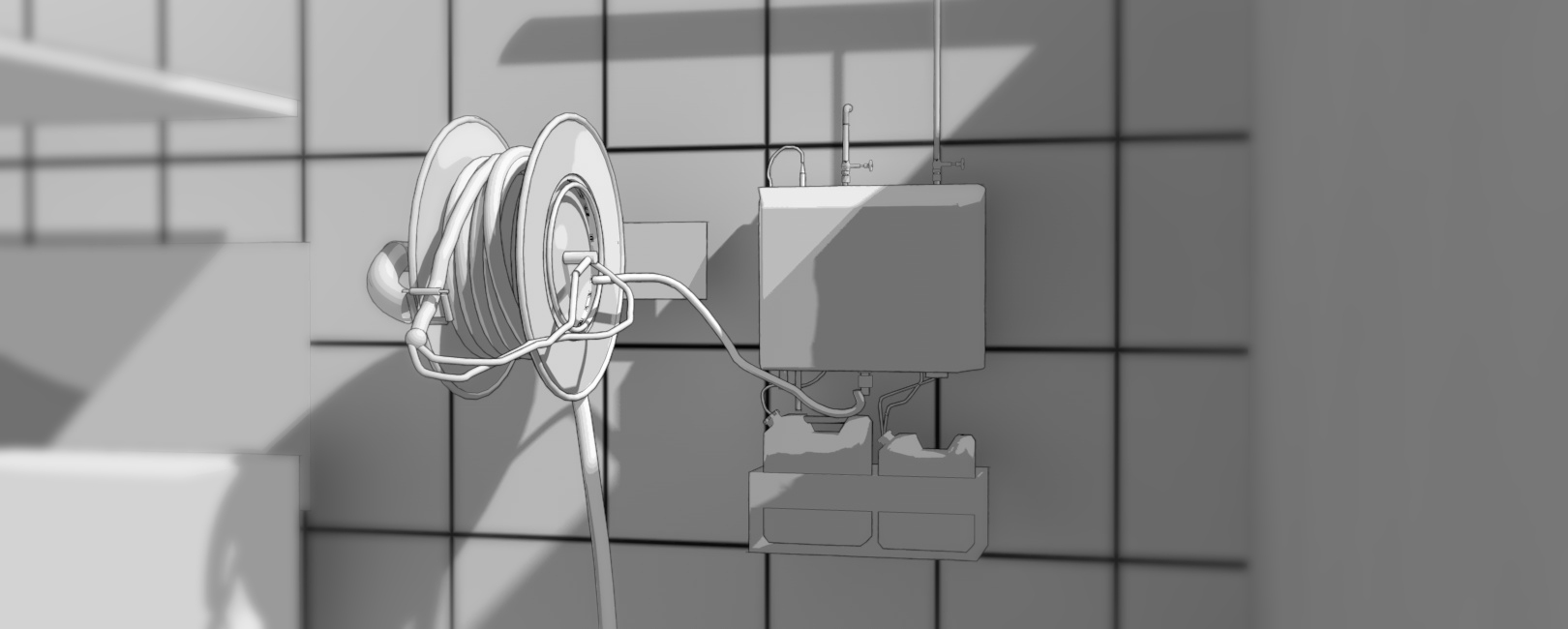 bebny samozwijajace rozprowadzenie wodne Systemy mycia zakładu serwiscsm