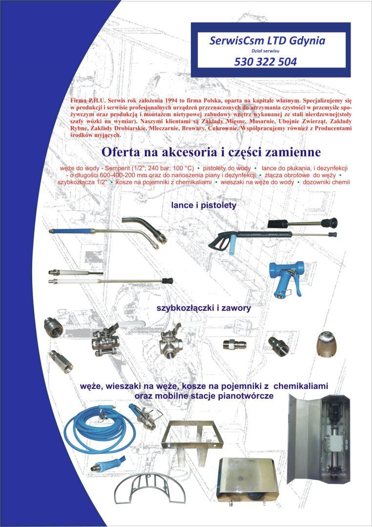 akcesoria - systemy mycia